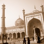 Photo Essay: The Jama Masjid in Sepia
