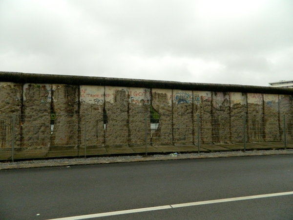 Remaining Segments of the Berlin Wall at Niederkirchnerstrasse