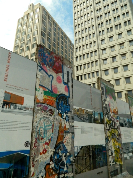 Berlin Wall Remnants and History at Potsdamer Platz