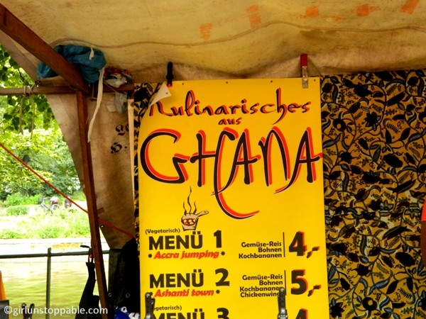 Ghanaian Food at the Turkish Market in Berlin