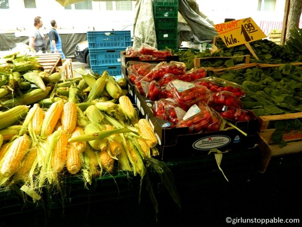 Vegetables at the Turkish Market in Berlin