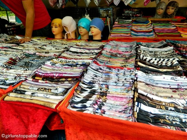 Scarves at the Turkish Market in Berlin