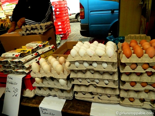 Eggs at the Turkish Market in Berlin