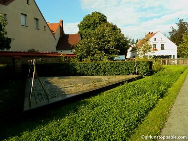 Comenius garden in the Rixdorf neighborhood of Neukolln, Berlin
