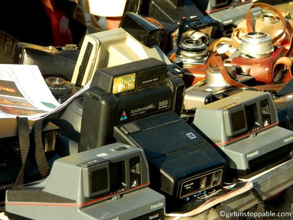 Vintage cameras in Berlin