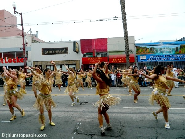 Dancers at the San Francisco Carnival