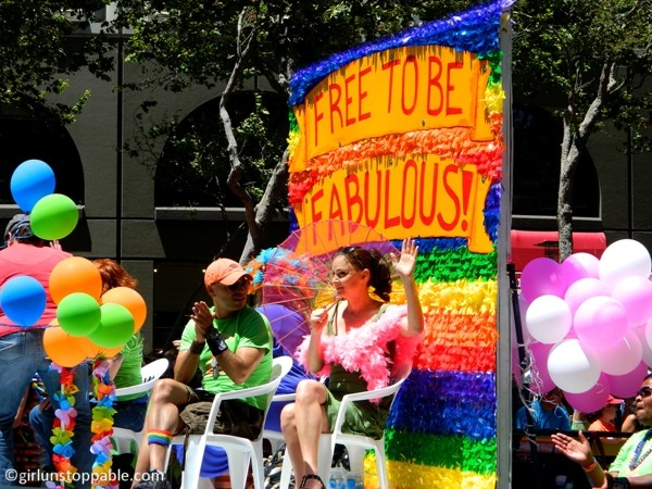 Float at San Francisco Pride 2012