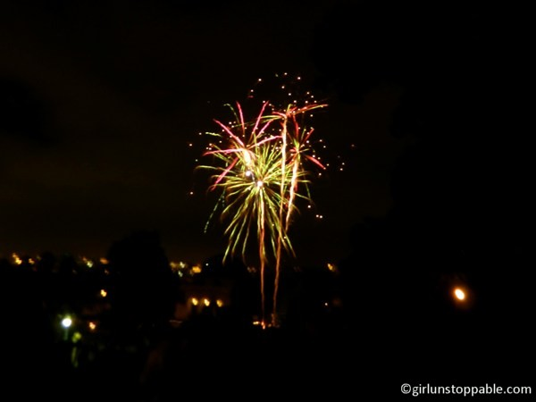Fourth of July fireworks in San Francisco