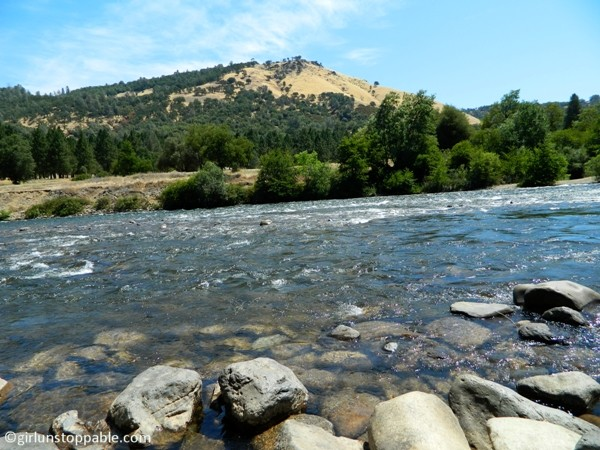 The American River at the Marshall Gold Discovery Site in Coloma, California