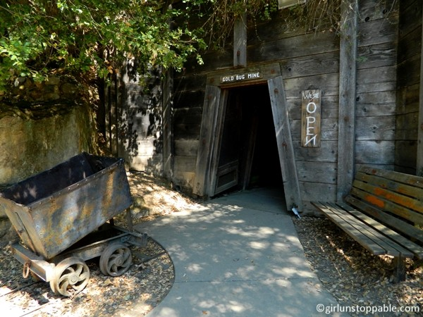 The Gold Bug Mine in Placerville, California