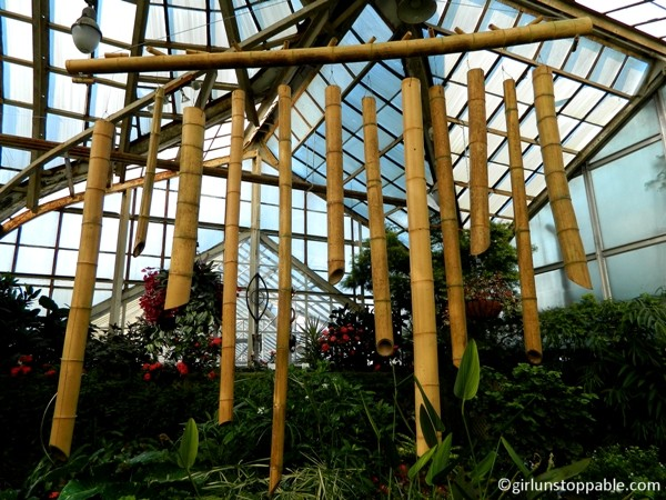 The Lincoln Park Conservatory in Chicago