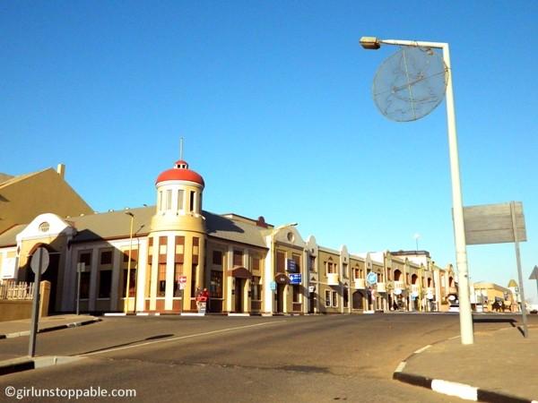 A street in Swakopmund, Namibia
