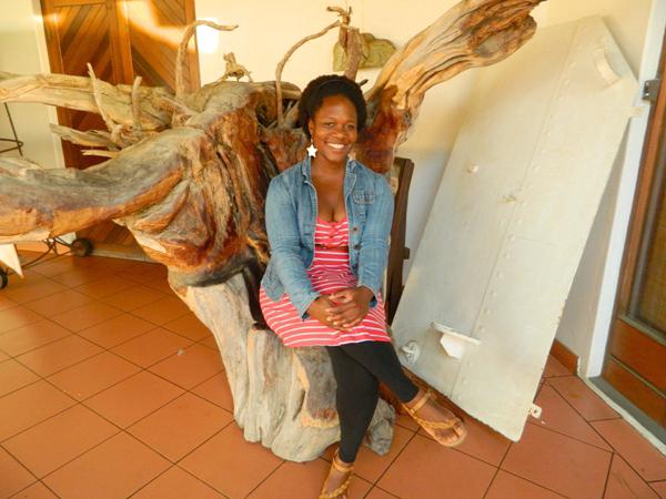 Me in Swakopmund, Namibia