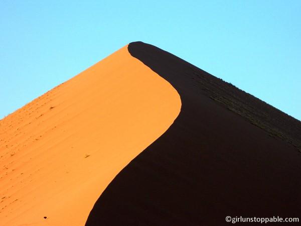 Sand dune in Sossusvlei, Namibia