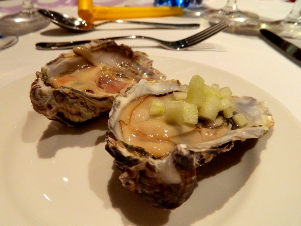 Oysters in Windhoek, Namibia