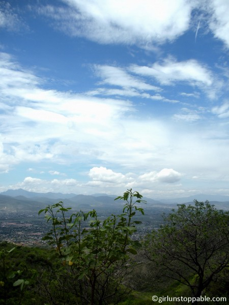 View from Monte Alban, Oaxaca, Mexico