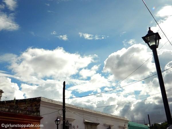 Sky in Oaxaca, Mexico