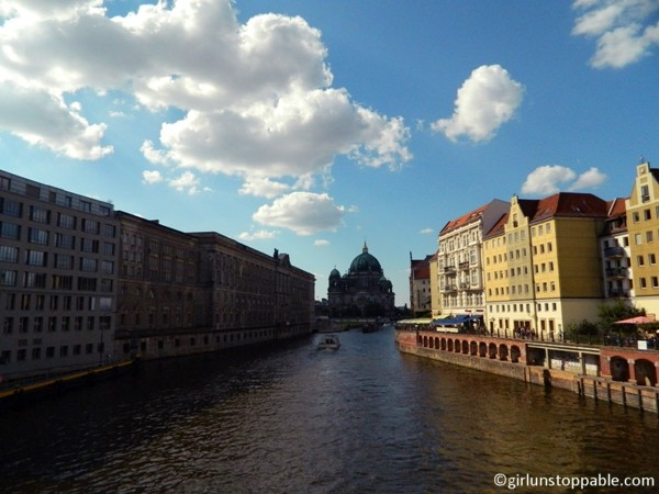 The Spree River and Museum Island in Berlin