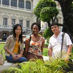 Bangkok - Grand Palace with New Friends