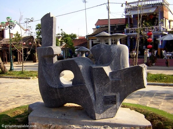 Public art in Hoi An, Vietnam