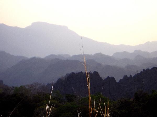 Phou Hin Boun Limestone Forest, Laos
