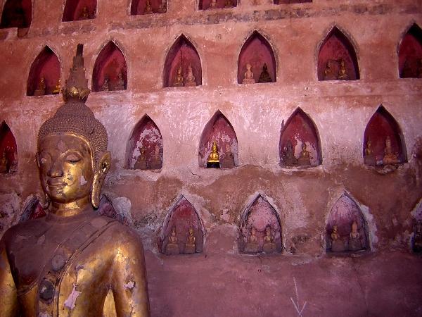 Wat Si Saket in Vientiane, Laos