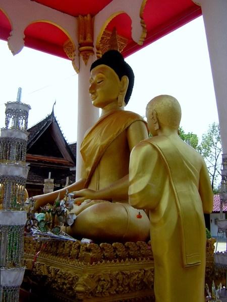 Buddha in Vientiane, Laos
