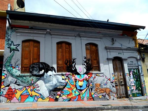Street Art in Bogota, Colombia