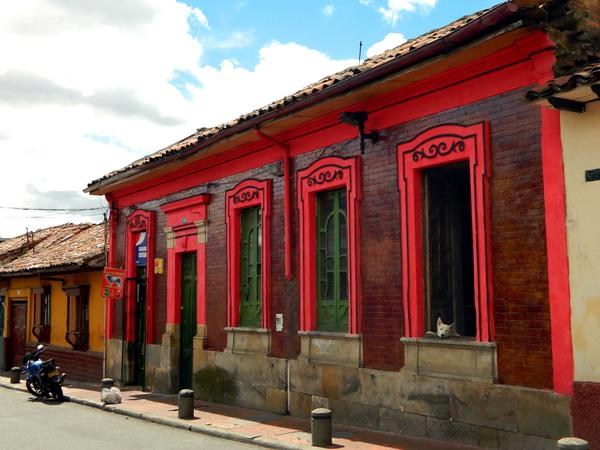 La Candelaria neighborhood in Bogota, Candelaria