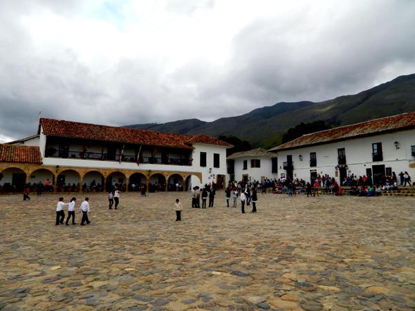 Plaza Mayor in Villa de Leyva, Colombia