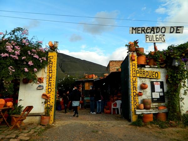 Mercado de Pulgas in Villa de Leyva, Colombia
