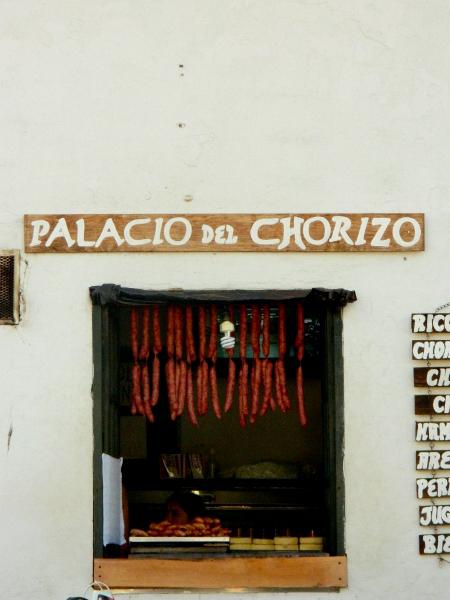 Palacio del Chorizo in Villa de Leyva, Colombia