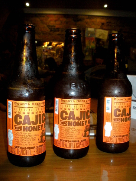 Cajica Honey Ale by Bogota Beer Company