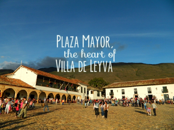 Plaza Mayor, the heart of Villa de Leyva, Colombia