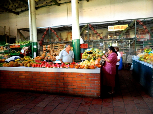 The Market in San Gil, Colombia
