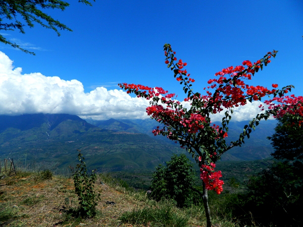 View from Barichara, Colombia