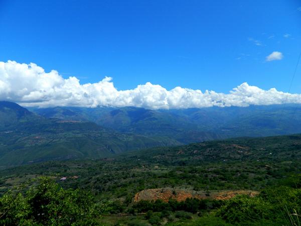 Trail from Barichara to Guane, Colombia