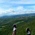 Riding the Wind: Paragliding Over the Countryside Near San Gil, Colombia