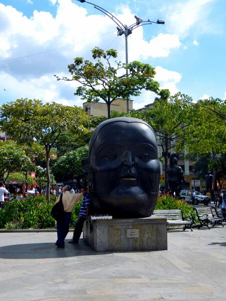 Plaza Botero in Medellin, Colombia