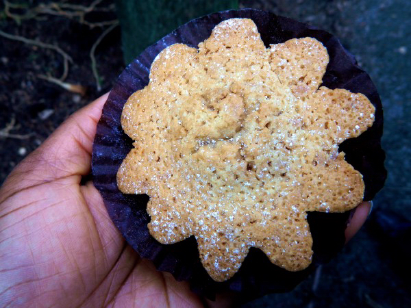 Almond pastry from La Farine, Oakland