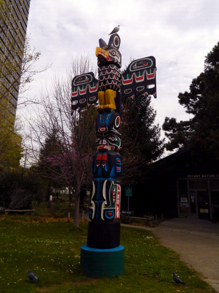 Lake Merritt totem pole, Oakland