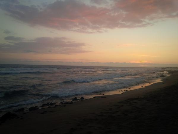 Big Island, Hawaii Beach Sunset