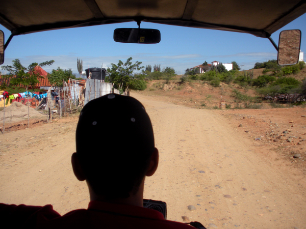 Leaving the Tatacoa Desert, Colombia