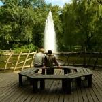 Fountain at Volkspark Friedrichshain in Berlin
